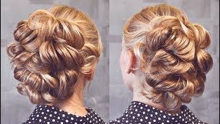 "Hairstyle for medium hair - Причёска на резинках - ""Пузырьки"" - Hairstyles by REM"