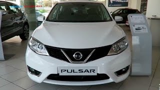 NEW 2017 Nissan Pulsar - Exterior and Interior