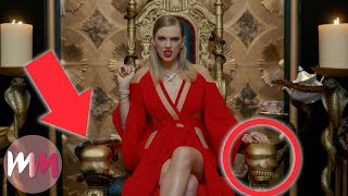 "download lagu Top 10 References You Missed In Taylor Swift's ""look gratis"