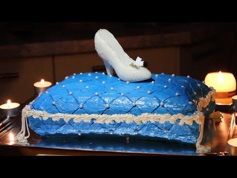 """Торт """"Золушка"""" (!!!) или """"Хрустальная туфелька"""""""
