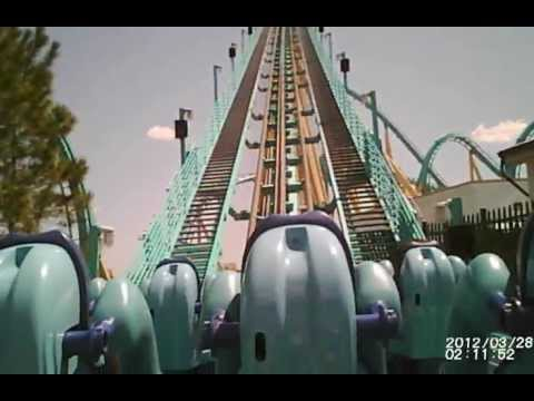 Kraken Rollercoaster, Sea World Orlando Fl