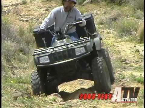 2003 Arctic Cat 500i Test - ATVTV Test Video Series