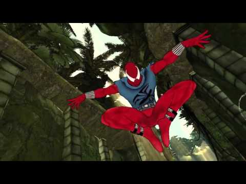 Spider Man : Shattered Dimensions - Scarlett Suit Vignette [HD] Video
