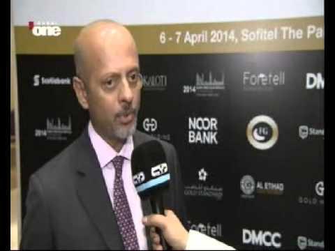 Dubai One TV interview with Gautam Sashittal, CEO, DMCC at DPMC 2014