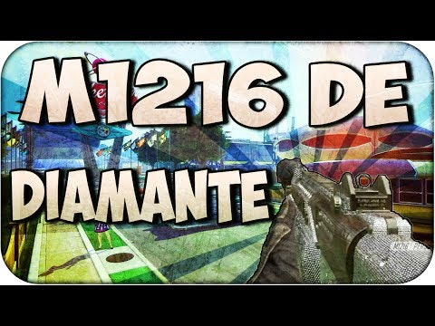 Escopeta M1216 de Diamante!! - Black Ops 2