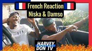 Niska Reseaux and Damso Macarena Reaction
