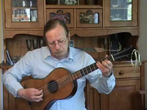 Mauro Giuliani - Opus 50 n°6 - Allegro (Tarentella) - Romantic Guitar