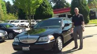 2007 Lincoln Town Car review - In 3 minutes you'll be an expert on the Lincoln Town car
