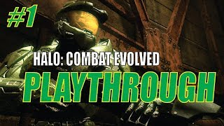 BACK TO THE 26TH CENTURY. Halo: Combat Evolved Gameplay Part 1
