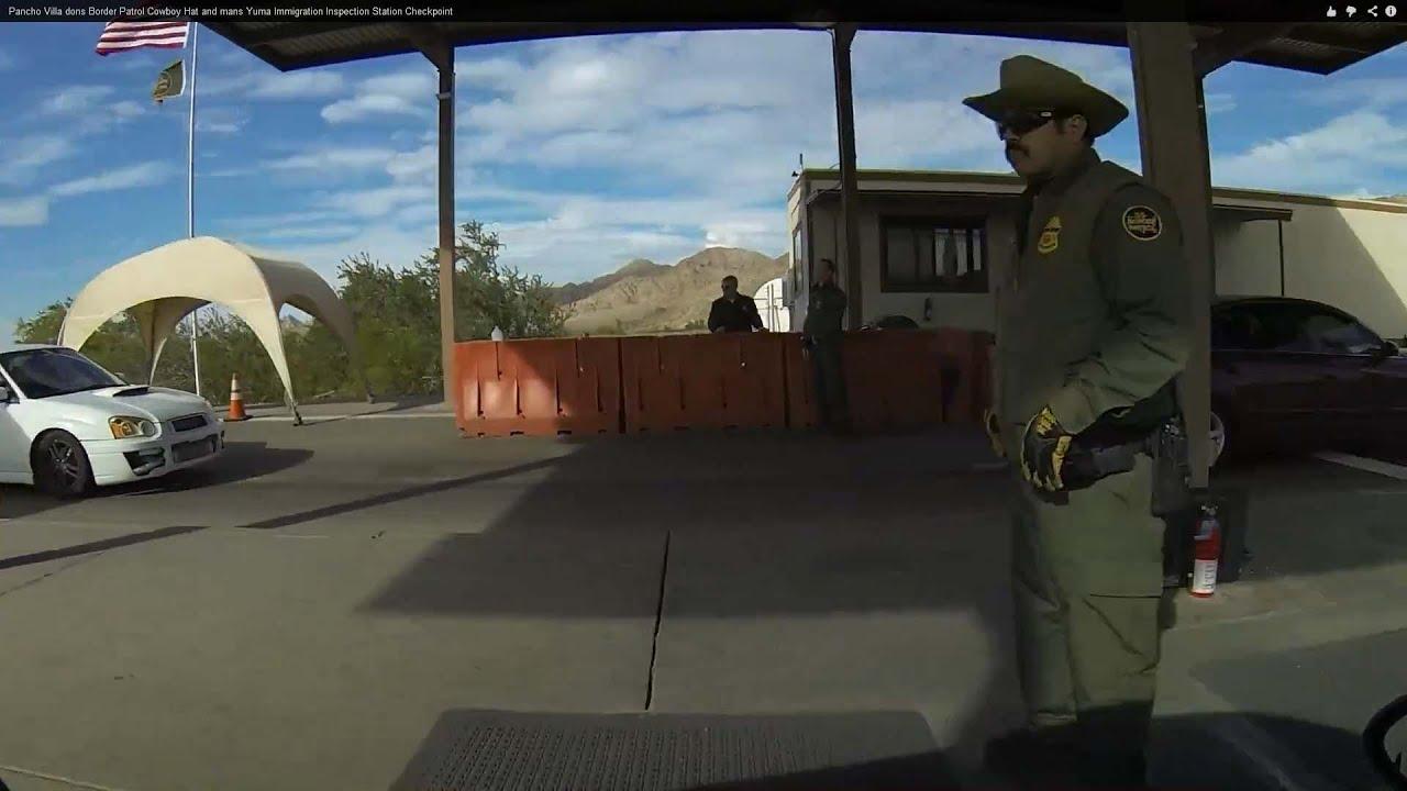 Cowboy Hat Border Border Patrol Cowboy Hat