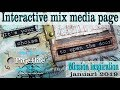 EASY TO FOLLOW MIX MEDIA TUTORIAL INTERACTIVE ARTJOURNAL PAGE ~ Open The Door