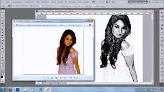 Эффект рисунка карандашом в фотошопе VideoSchool