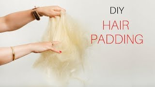 Hair Padding Mix Demonstration
