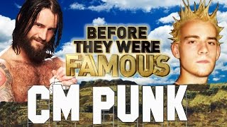 CM PUNK - Before They Were Famous - WWE