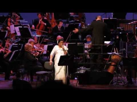 Asha Bhosle & Metropole Orchestra - Do Lafzon Ki Hai Dil Ki Kahani - The Hague, 9th May 2013 video