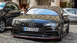 AUDI S7 ABT LAUNCH CONTROL IN SLOW MOTION