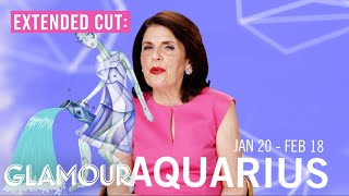 Aquarius Full Horoscope 2015: Glamourscopes with Susan Miller [Extended Cut]