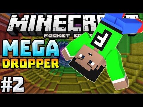MEGA DROPPER 2 Ep. 2 - INSANE DROPPER in 0.12.0!!! - Minecraft PE (Pocket Edition)