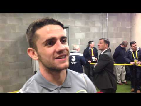 Republic of Ireland v Bosnia and Herzegovina - Post Match Interview - Robbie Brady (16/11/15)