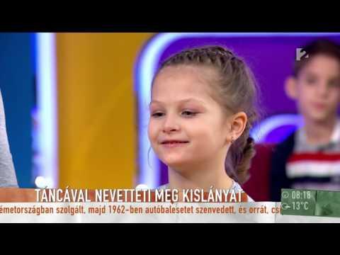Istenes Lászlóékat levette a lábukról Laky Zsuzsi elbűvölő kislánya - tv2.hu/mokka
