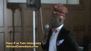 Foxy P at Yale University Stand Up Comedy