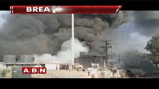 Massive Blaze Mishap In Bachupally Industrial Area | Hyderabad