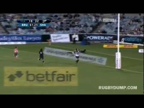 The Top 10 tries in the Southern Hemisphere in 2012