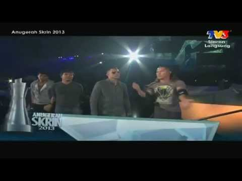 [hd] Anugerah Skrin 2013 Adi Putra Rosyam Nor Kl Gangster Opening Cut video