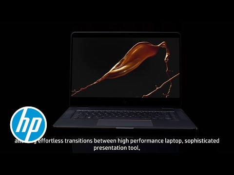 HP Spectre x360 Seductive power. In all modes.