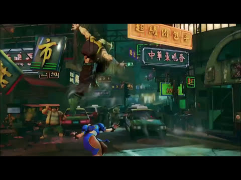 Street Fighter V: Charlie Gameplay Trailer Background and Analysis by @Bafael