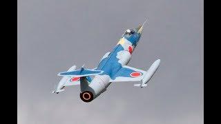 HUGE 1/4 SCALE RC F-104 STARFIGHTER - BF 300N TURBINE - PAUL & LUKE AT BMFA NATIONALS - 2017