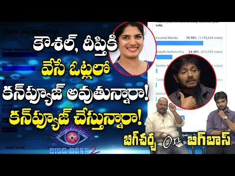Big Debate on Voting for Kaushal and Deepthi | Big Debate on Telugu Bigg Boss 2 Voting | Y5 tv |