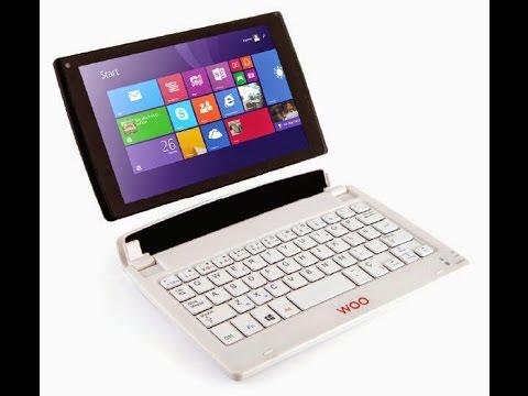 Laptop convertible de Woo (Umboxing)