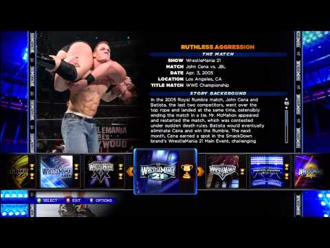 WWE 2K14 Winning 30 Years of Wrestle Mania Done. Completed