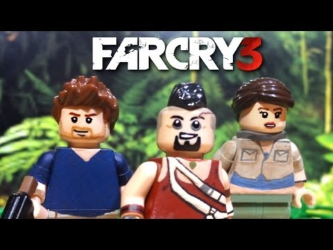 LEGO Far Cry 3 : Jason Brody. Vaas Montenegro. and Liza Snow - Showcase
