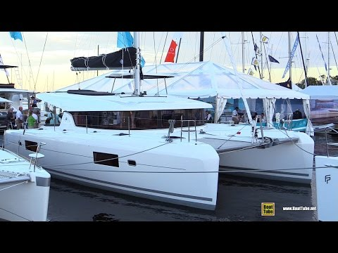 2017 Lagoon 42 Catamaran - Deck and Interior Walkaround - 2016 Annapolis Sailboat Show