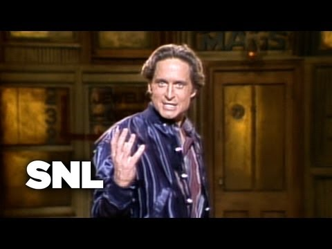 Michael Douglas Monologue - Saturday Night Live