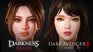 Darkness Rises vs Dark Avenger 3 - Westernization - Android on PC - Mobile - F2P - EN 12.83 MB