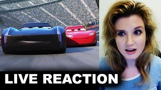 Cars 3 Trailer REACTION