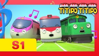 TITIPO S1 EP11 l Mr. Herb, are you okay?! l Trains for kids l TITIPO TITIPO