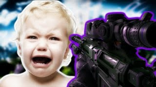 BO3: BRITISH SQUEAKER RETURNS AND ABUSES HIS MICROPHONE! (Black Ops 3 Trolling)