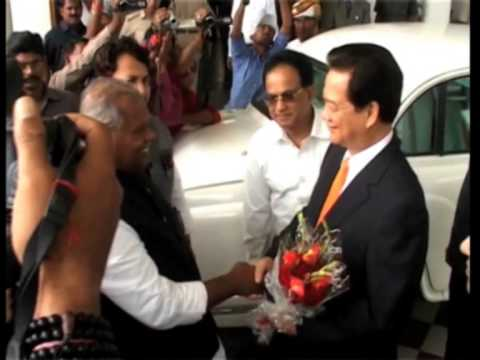 Vietnam's prime minister arrives in India for two-day visit