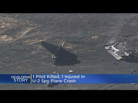 1 Pilot Killed, 1 Injured In U-2 Spy Plane Crash