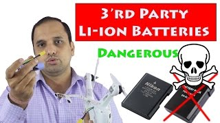 Not to Use 3rd Party Li-ion Batteries for Mobile Phones & Gadgets