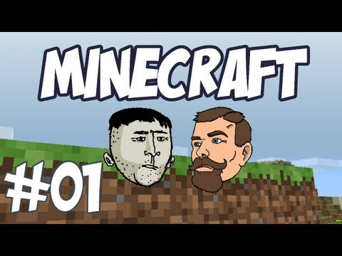 Minecraft - Episode 1 - The First Night