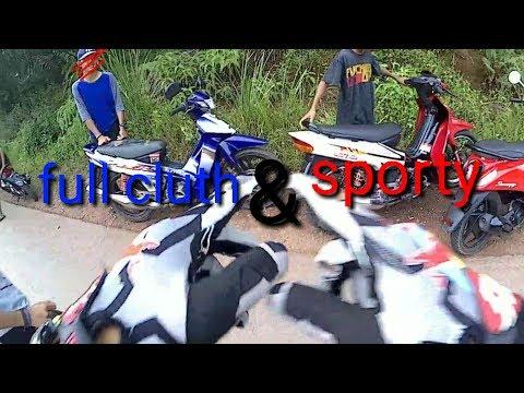 Test 2 Tak Fizr Full Cluth Dan Sporty|#11|Motovlog Indonesia