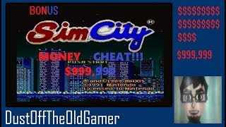 $999,999 MONEY CHEAT SimCity for SNES