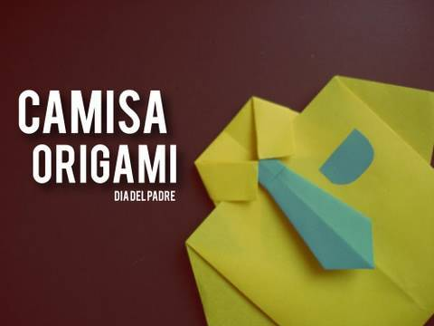 Camisa Origami // dia del padre