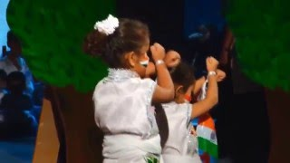 It happens only in India dance performance by 9 Kids Students