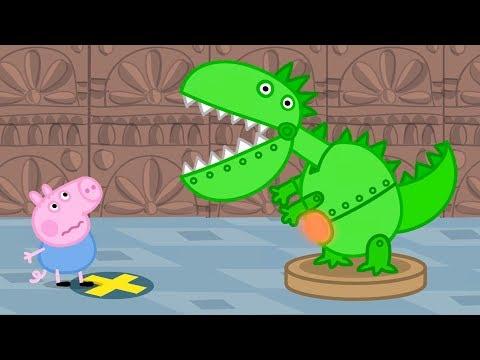 Peppa Pig Świnka Peppa po Polsku | George i Dinozaur! | Najlepsze Odcinki